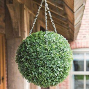 Dekoratiivne pall elupuu lehtedest riputatav 30cm