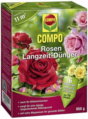 Pikaajaline roosiväetis Compo 6-kuud 850g