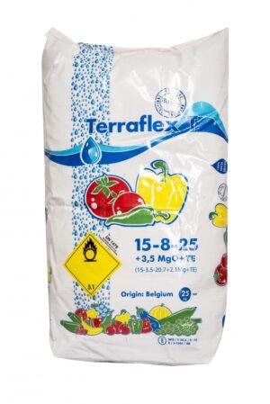 Väetis Terraflex T NPK 15-8-25+3;5 +me 25kg