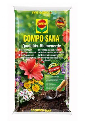 Lillemuld rõdu- ja toataimedele Compo 5L