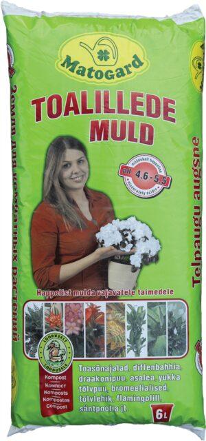 Toalillede muld punane Matogard 6L