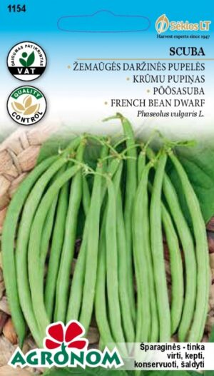 Aeduba Scuba - Phaseolus vulgaris L.