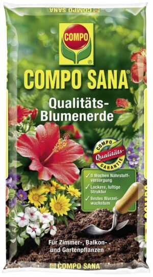 Lillemuld rõdu- ja toataimedele Compo 10L
