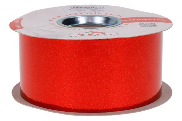 Metallpael 50mm x 50m läikiv punane