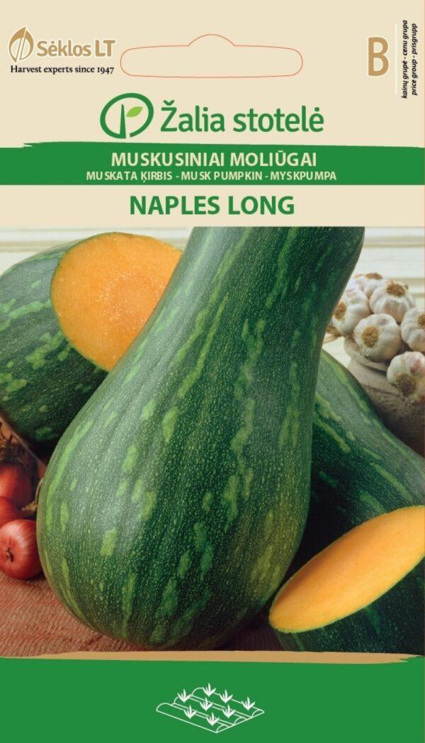 Muskaatkõrvits Naples Long - Cucurbita moschata (Duchesne ex Lam.) Poir.