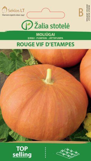 Kõrvits Rouge Vif DEtampes - Cucurbita maxima Duchesne