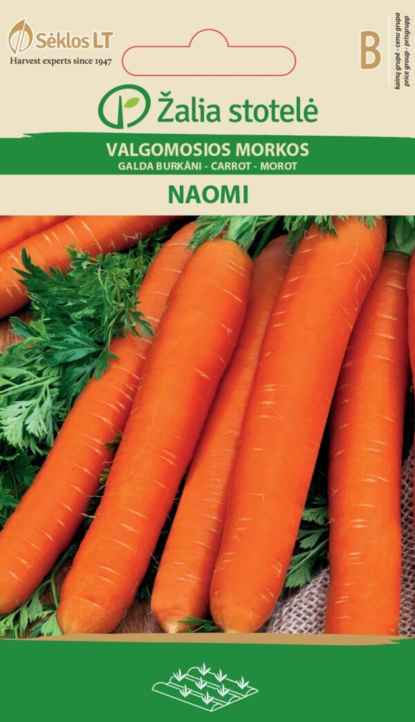 Porgand Naomi - Daucus carota L.