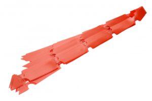 Rosettpael Plast 30mm oranz 25tk