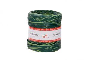Niinepael Bicolor poly 15mm x 200m tume-heleroheline