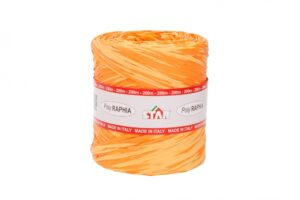 Niinepael Bicolor poly 15mm x 200m oranz