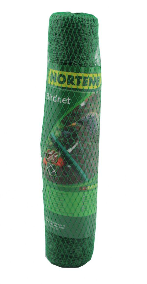 Linnuvõrk Nortene 4 x 5m; silm 18 x 18mm roheline