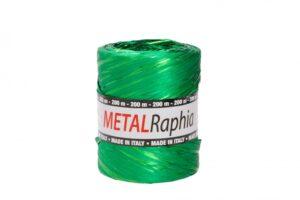 Niinepael metallik 15mm x 200m roheline