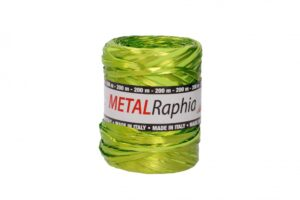 Niinepael metallik 15mm x 200m heleroheline