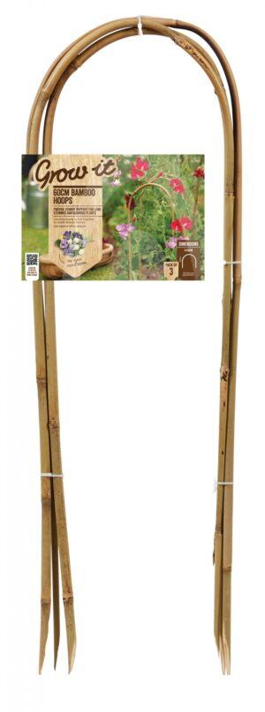 Lilletugi kaardus bambusest 60cm