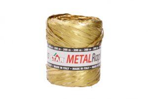Niinepael metallik 15mm x 200m kuld