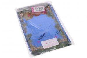 Kinkekott Traditionelle läbipaistev-värviline 35my 22;5 x 35cm sinine 100tk