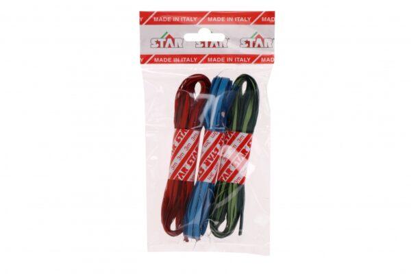 Niinepael mitmevärviline 15mm x 3m punane-roheline-sinine 3 punti/pakis
