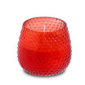 Klaasküünal mullidega 25h punane