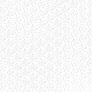 Pakkekile 100cm x 25m valgel põhjal õrn lill