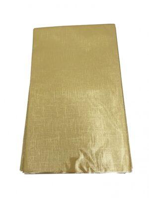 Kinkekott fooliumist 20 x 35cm kuldne säbruline 50tk/pakis